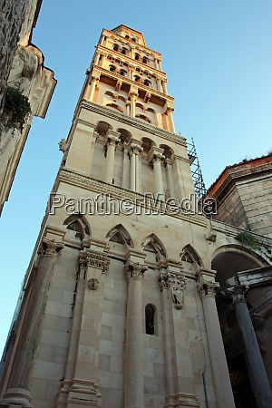 bell tower of the cathedral of