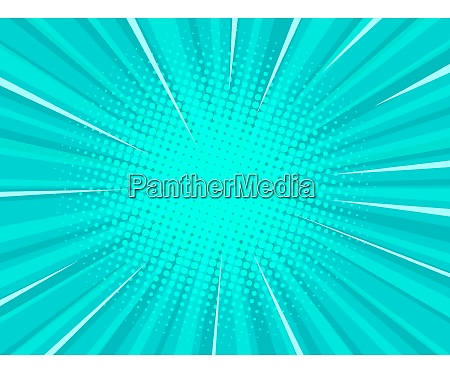 turquoise pop art background