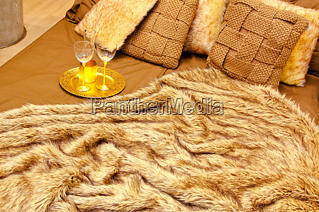 fur bedding