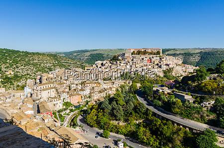 panorama view of ragusa ibla italy