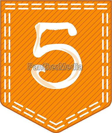orange pocket five