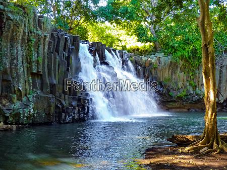 rochester falls in mauritius island