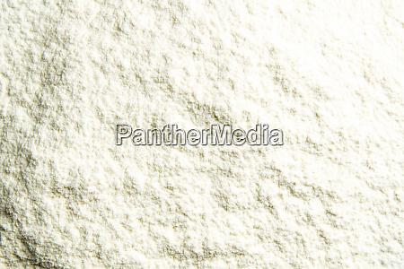 flour close up background a pile