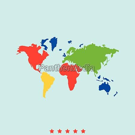 world map set it