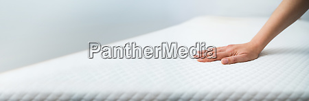 hand testing mattress
