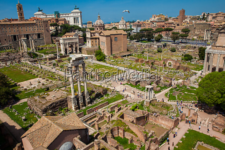 rome italy april 2018 view