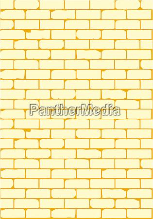 pale brick wall