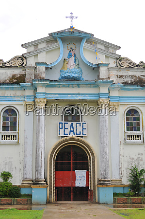 church of antequera on bohol in