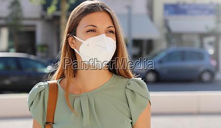 covid 19 pandemic coronavirus woman in