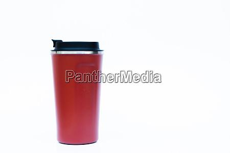 tumbler isolated on white background