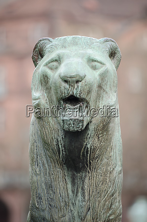 mannheim germany city sculptures of the