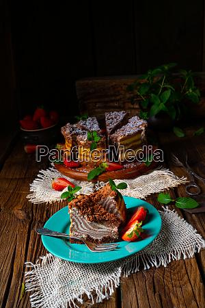 delicious and creamy zebra cheesecake
