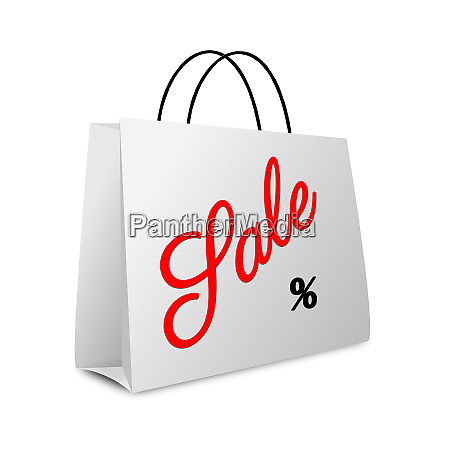 shopping bag lettering sale with