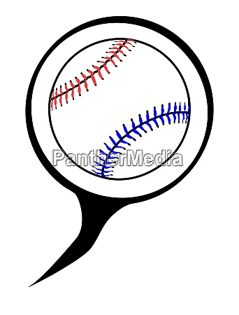 baseball speech bubble