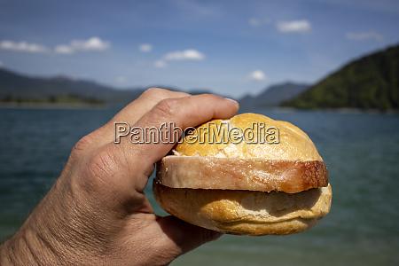 meat loaf bun at walchensee
