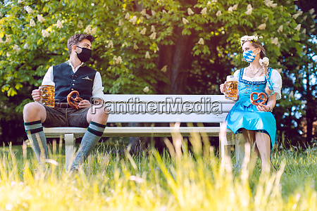 social distancing in bavaria at the