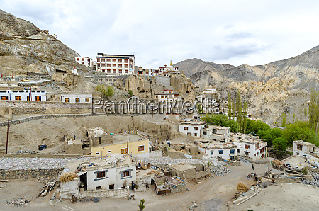 leh capital city ladakh india