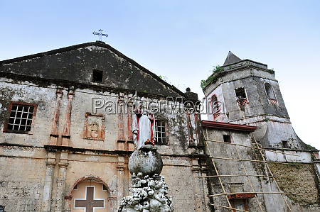 church in antequera on bohol in