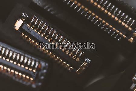 computer hardware macro closeup texture