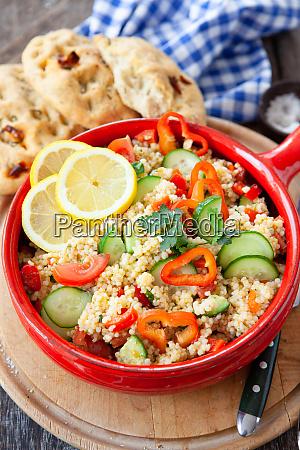 delicious ptitim couscous salad