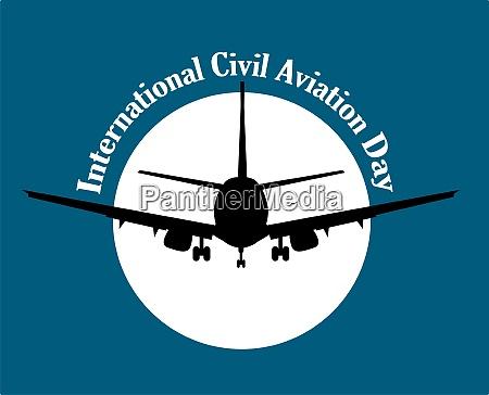international civil aviation day logotypes for