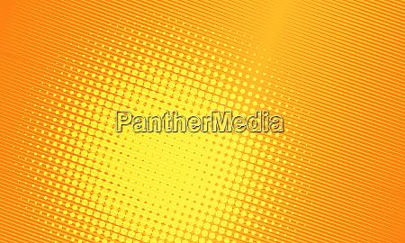 orange pop art background