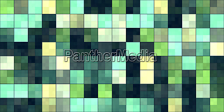 green tiling colored squares colorful mosaic