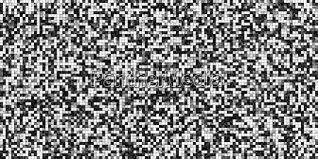 black white tiling colored squares