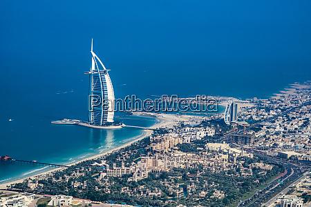 urban landscape of dubai united arab