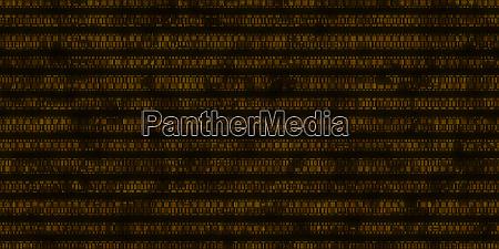 orange dna data code background seamless