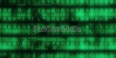 green dna data code background seamless