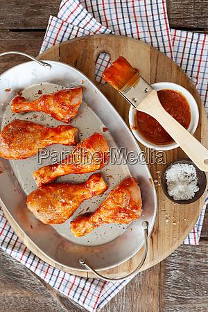 marinating chicken drumsticks