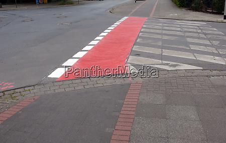 bike path crossing