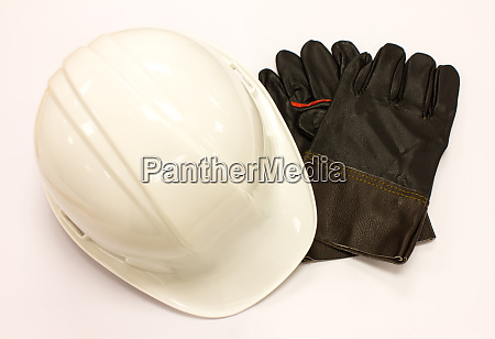 gloves and cap safety
