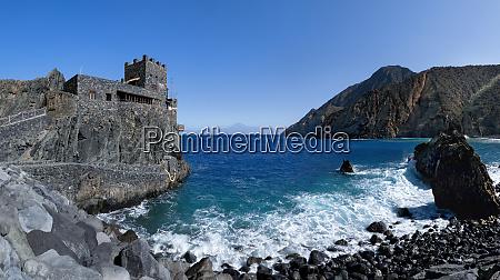 la gomera castillo del mar