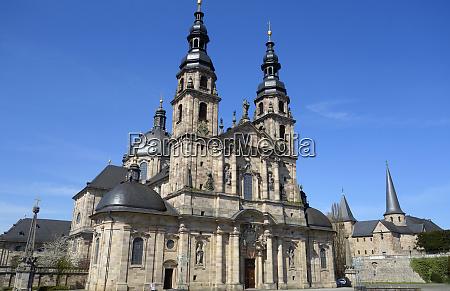 st salvator cathedral in fulda