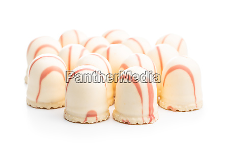 sweet foam dessert marshmallow covered with