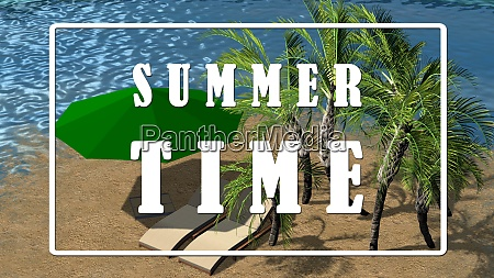 text summer time luxury