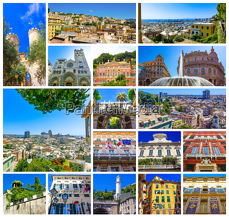 collage, of, italian, buildings, in, old - 28459962