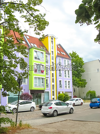 modern, apartment, building, in, berlin, , germany - 28459959
