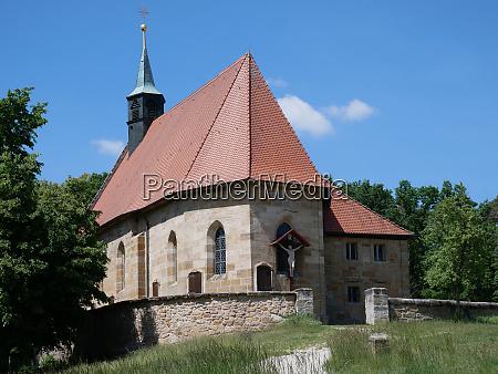 hallerndorf kreuzberg jakobsweg wallfahtskapelle pilgrimage church