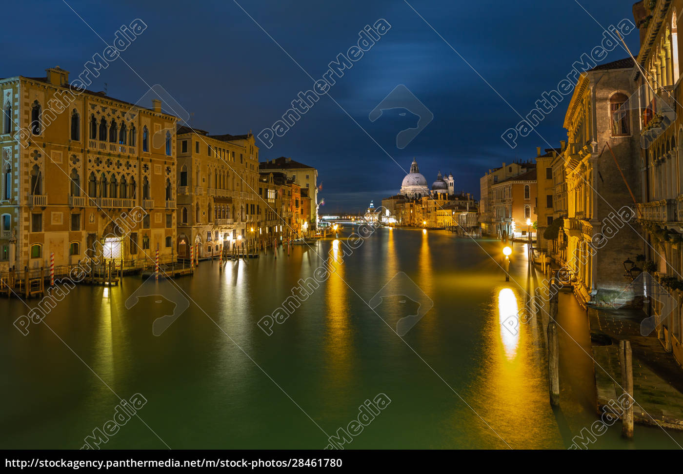grand, canal, in, venice, at, night - 28461780