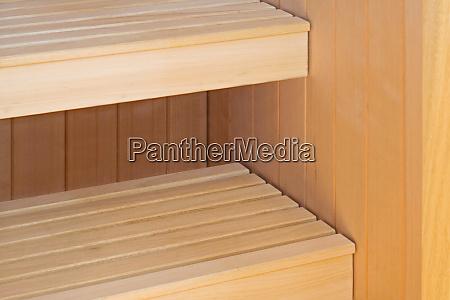 sauna bench