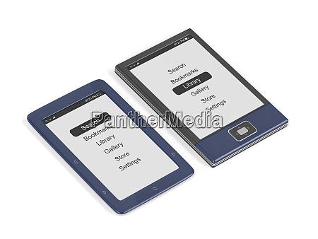 e book readers with different designs