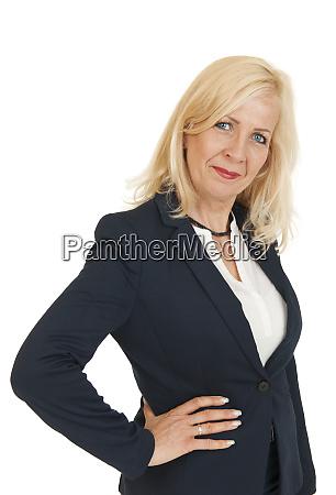 upper body portrait of a blonde