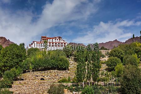 likir gompa tibetan buddhist monastery in