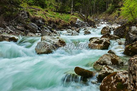 cascade of kuhfluchtwasserfall farchant garmisch partenkirchen