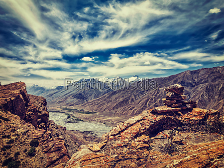 spiti valley in himalayas