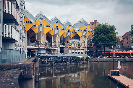 cube houses in rotterdam netherlands