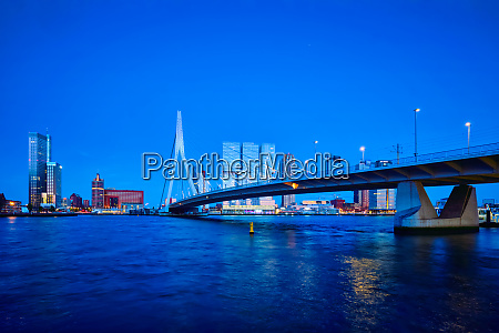 erasmus bridge rotterdam netherlands
